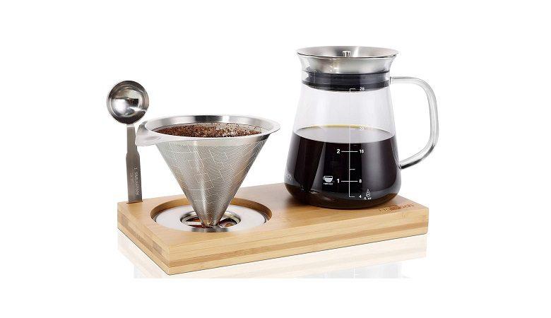 Aquach Pour Over Coffee Maker Set
