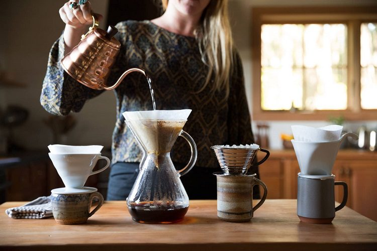 WHAT IS DIFFERENT ABOUT POUR-OVER COFFEE?